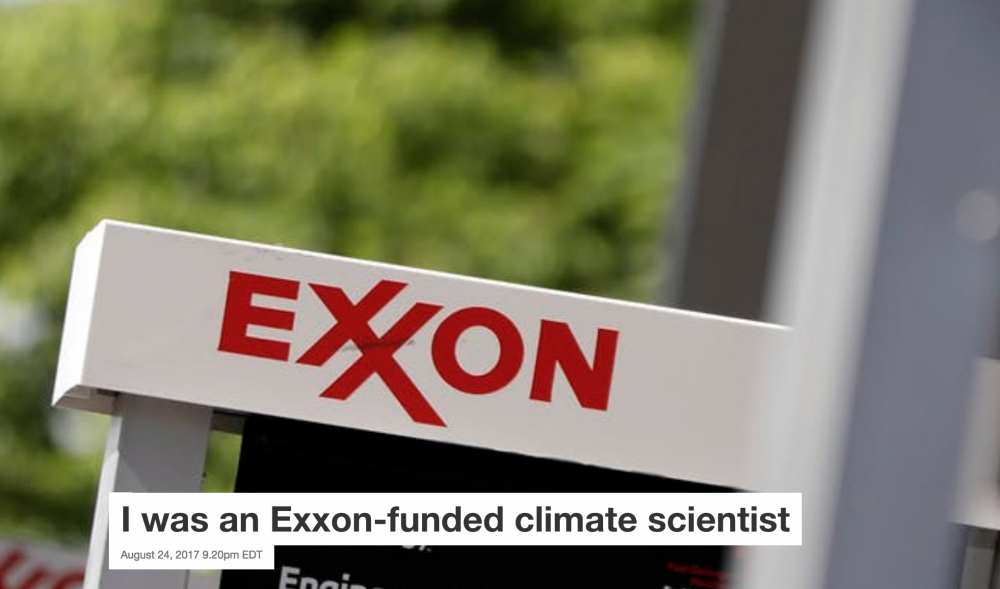 i was an exxon-funded scientist