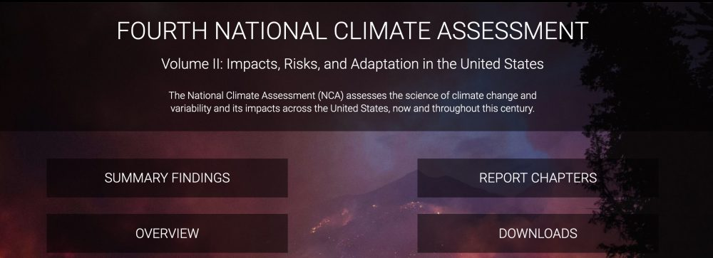 what it's like to write the US national climate assessment: my personal story