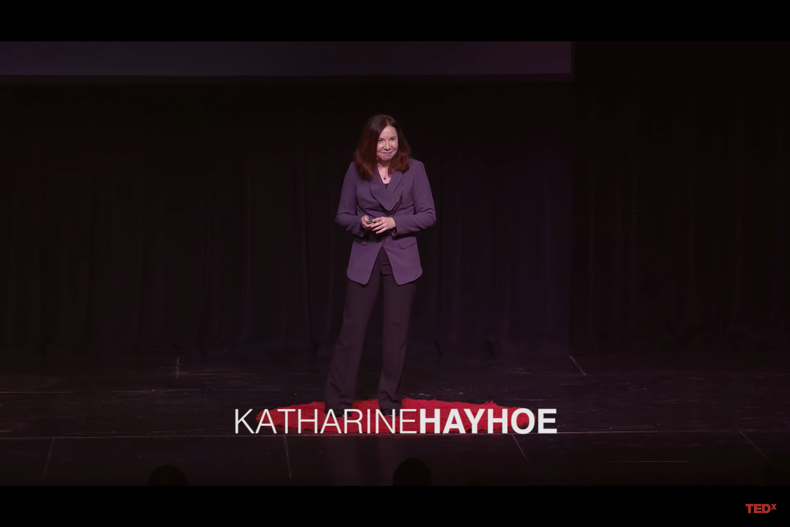 What if climate change is real? Hayhoe Tedx Talk
